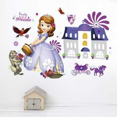 Sofia die Erste Prinzessin Princess Wandtattoo Sticker Wand Deko Aufkleber