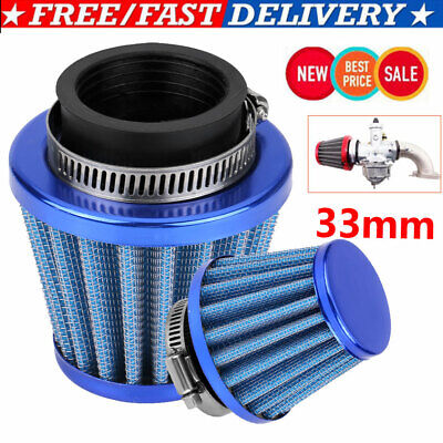 30mm Performance High Flow Induction Cone Air Filter for Off-road Motorcycle ATV
