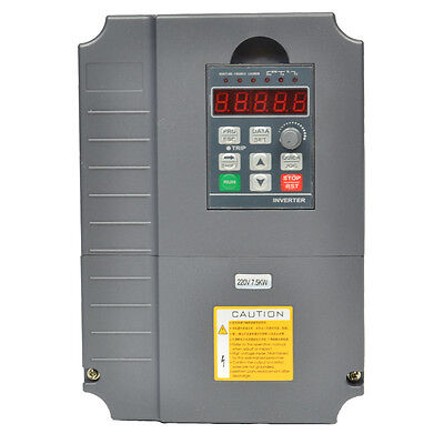 Huan Yang 220v 7.5kw Variable Frequency Drive Inverter 10hp 34a Vfd Cnc