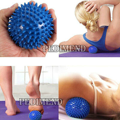 PEDIMEND™ SPIKY MASSAGE BALLS for Foot Pain Relief - Best for Plantar (Best Manual Foot Massager)