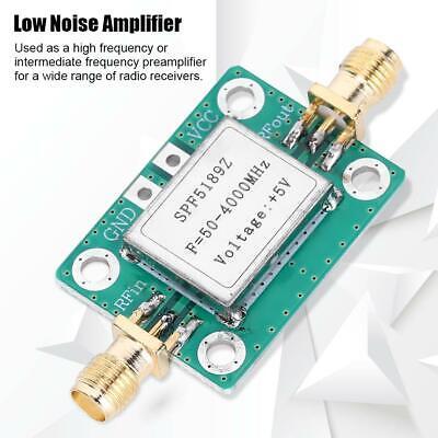 1pcs 50-4000 Mhz Rf Low Noise Amplifier Lna Board Module With Shielding