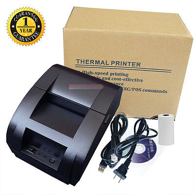 12V USB Mini 58MM POS/ESC Cash Register Thermal Dot Receipt Printer High Speed Y