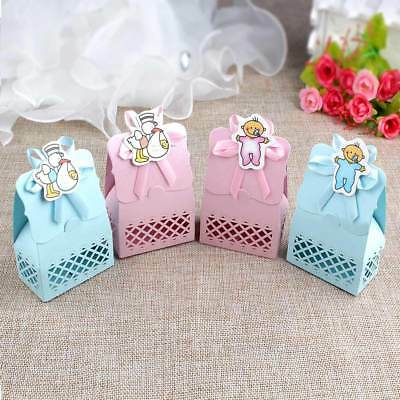 12×Baby Shower Favors Candy Box Christening Gift Baptism Birthday Party Decor - Baptism Decorations