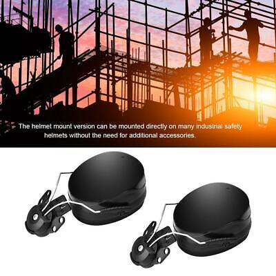 Hard Hat Mounted Earmuffs - Noise Blocking Ear Muffs For Hard Hats