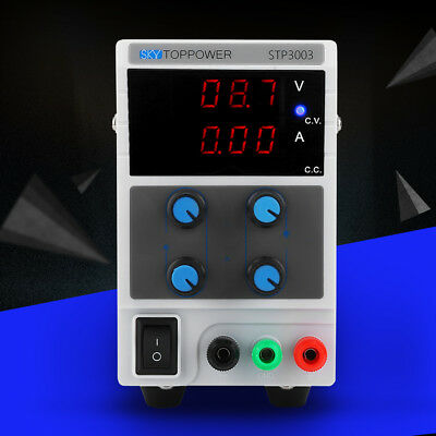 Skytoppower Adjustable 0-30v60v 0-3a5a10a Variable Regulated Dc Power Supply