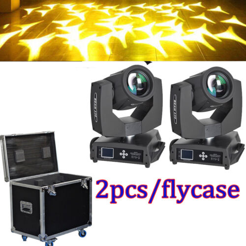 230W 7R Sharpy Beam Moving Head Light Stage Light Flight Case 2pcs Free Shipping