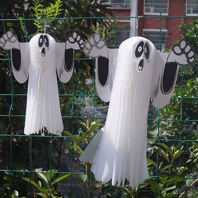 Halloween Scary Hanging Ghost for Garden Yard Bar Decoration Haunted House Props