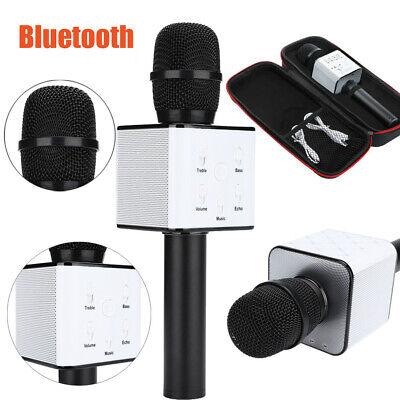 Q7 Handheld KTV Wireless Microphone Bluetooth Karaoke Singing Mic Speaker Player