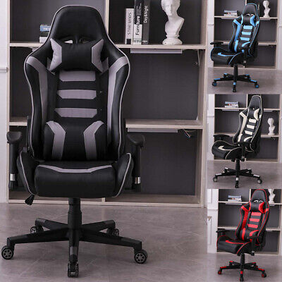 Swivel Gaming Chair High-back Executive Racing Computer Office Chairs Furniture