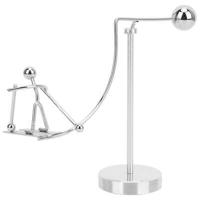 For Newtons Pendulum Little Man Educational Toys Desktop Decor Skiing Accessory