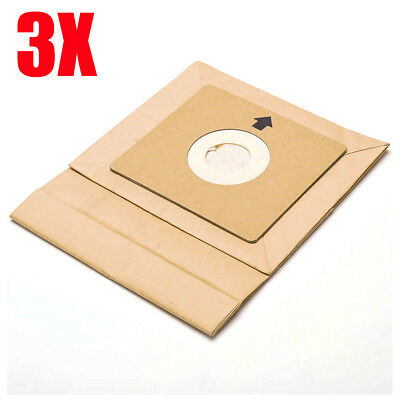 3pcs Paper Filter Disposable Dust Bags for Philips Sanyo FC433 Vacuum Cleaner