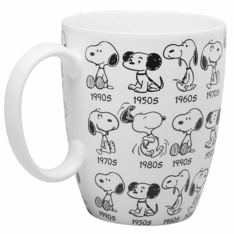 Department 56 Peanuts Snoopy Mug - 65th Anniversary Collector