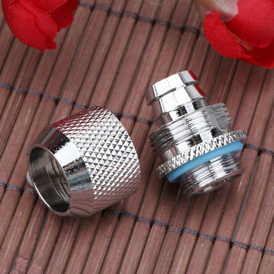 - G1/4 External Thread Tube Connector for PC Water Cooling System 9.5 X 12.7 mm