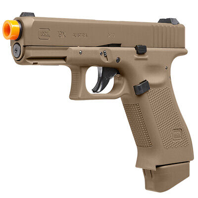 UMAREX GLOCK™ 19X Co2 Power Half-Blowback Airsoft Pistol Coyote Brown 2276338