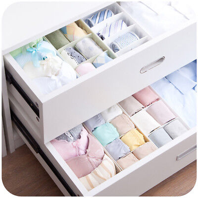 Plastic Storage Organizer Box with Removable Dividers Drawer Containers