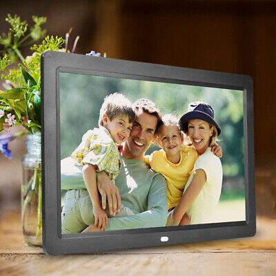 12 Zoll 1280 * 800 HD Digitaler Bilderrahmen Wecker Player Album Fernbedienung