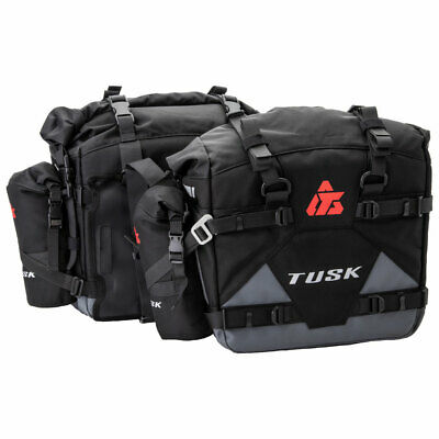 Tusk Pilot Pannier Bags with Small Bottle Holders