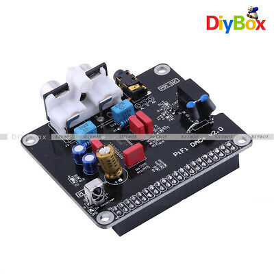 Dac Hifi Dac Audio Sound Card Module I2s Interface For Raspberry Pi 3 2 B B
