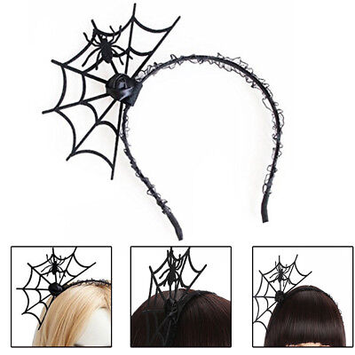 Halloween Spider Web Hair (Halloween Dress Spider Web Hair Clip Spider Hairpin Party Costume Hairband)