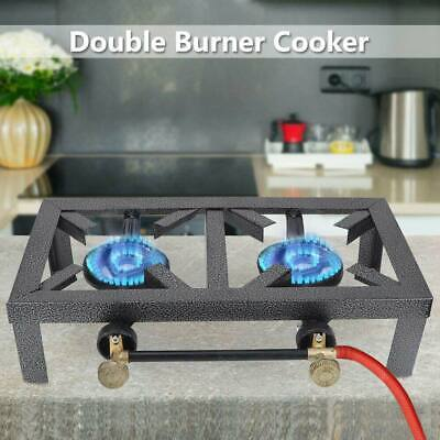 Portable Propane 1/2 Burner Gas Cooker Outdoor Camp Stove Stand BBQ Grill Chic