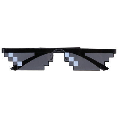 Thug Life Sunglasses Deal With It 8 Bit Pixel Glasses Mlg Unisex Goggles - NEW