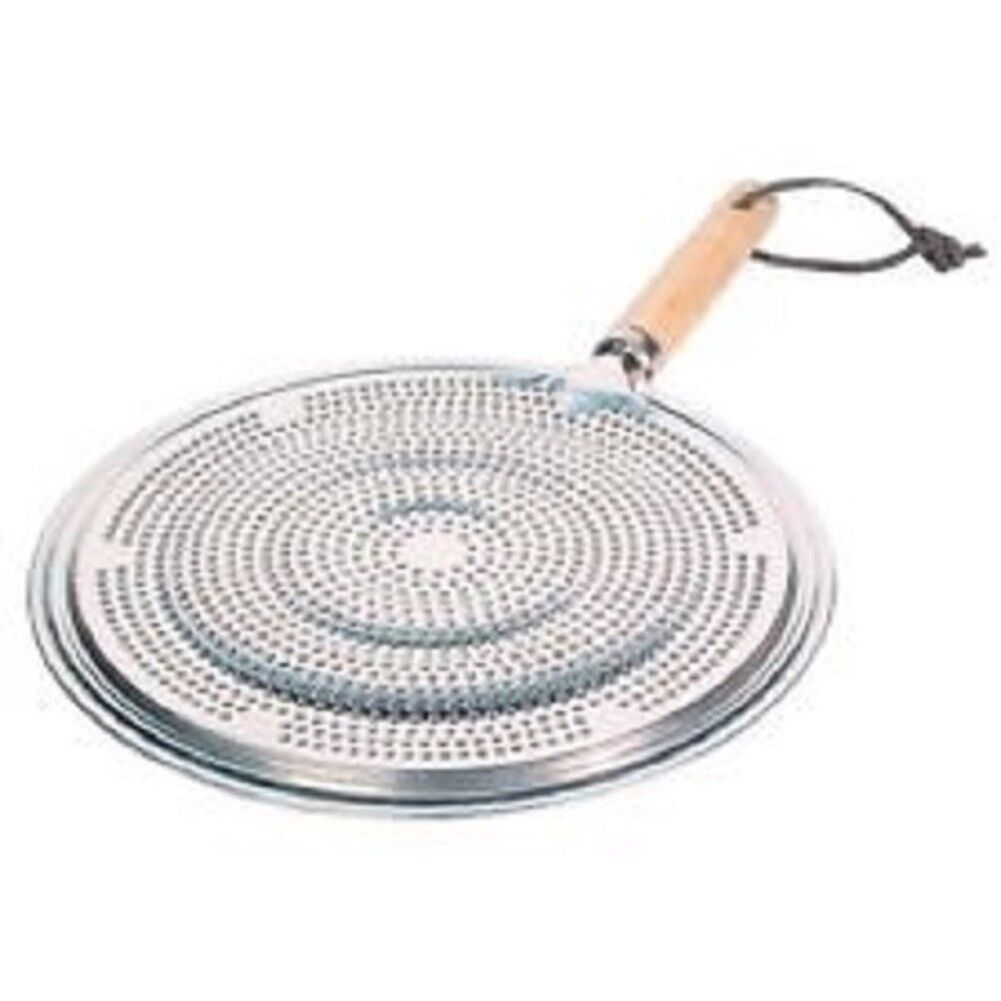 Stovetop Simmer Ring Heat Diffuser for Use on Gas and Electr
