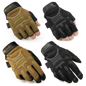 Mens-Tactical-Working-Gloves-Athletic-Half-Full-Finger-Gloves-Driving-Gloves-New
