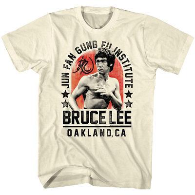 Bruce Lee Jun Fan Gung Fu Institute Oakland Mens T Shirt Ninja Legend (Jun Fan Gung Fu Institute T Shirt)
