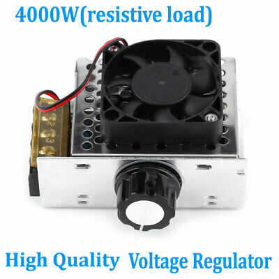4000w High Power 110-220v Ac Scr Motor Speed Controller Module Voltage Regulator