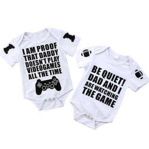 us newborn infant baby boys girl romper