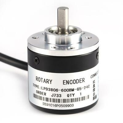 5v-24v 600pr Photoelectric Incremental Rotary Encoder Ab 2-phases Shaft 6mm Usa