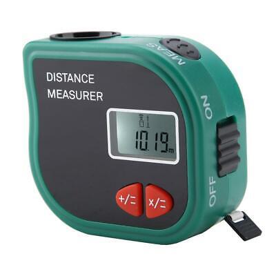Ultrasonic Measuring Tape Digital Measuring Distance Meter Rangefinder Tool