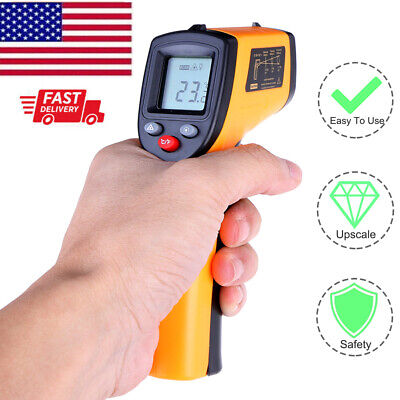 Ir Laser Thermometer Gun Non-contact Thermometer Temperature Tester Gun