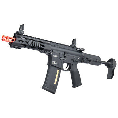 KWA Full Metal Ronin T6 PDW AEG 2.5 Airsoft Rifle w/ Adjustable FPS 104-01406