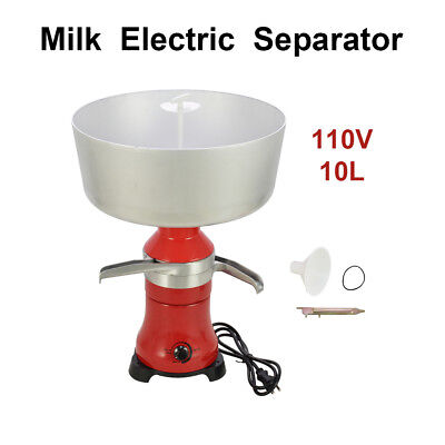 80-100lh Hot Fresh Milk Cream Electric Centrifugal Separator Metal