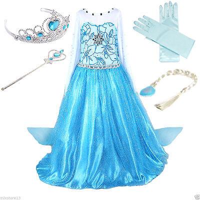 - Elsa & Anna Kostüme
