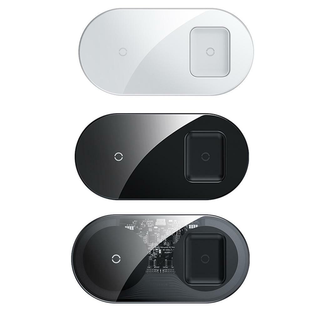 Baseus BS-W508 15W 2in 1 Dual Mirror Type-C Wireless Fast Ch