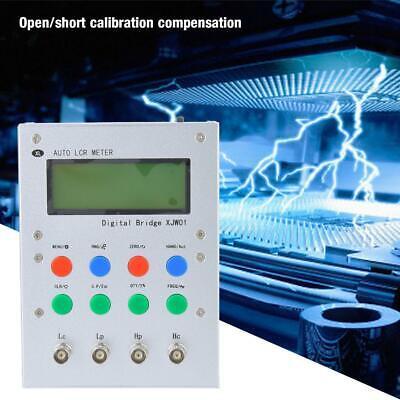 Xjw01 220v Digital Bridge 0.3 Lcr Capacitor Resistance Inductance Esr Meter