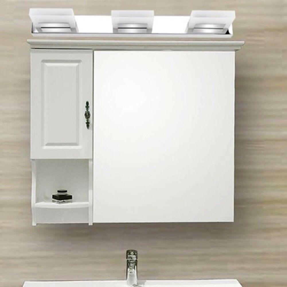 Modern Bathroom Crystal Lights 9w Wall LED Lamp Cool White