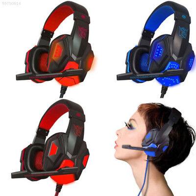 7369 3.5mm Over-Bass Gaming Headphone Headset Earphone W/Mic