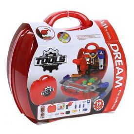 Dream the suitcase - New tools junior builder play set - Educational Toys - 19pc