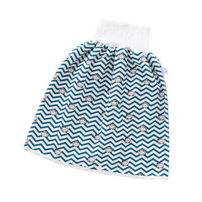 как выглядит 2 in 1 Comfy Childrens Diaper Skirt Shorts Baby Waterproof Leak-proof Washable фото
