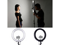 "Neewer Camera Photo / Video 18""Outer 14""Inner 600W 5500K Ring Fluorescent Flash Light (Light Only)"