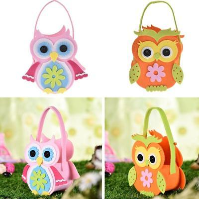 Geschenk-taschen Für Mädchen (Cute Owl 3D Eule Tasche für Kinder Mädchen Damen Animal Ostern)