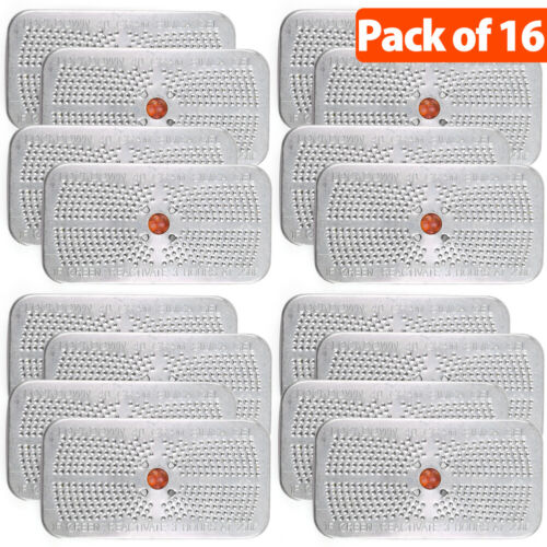 16Pack Rechargeable Silica Gel Packets Desiccant Dehumidifier Moisture Absorber