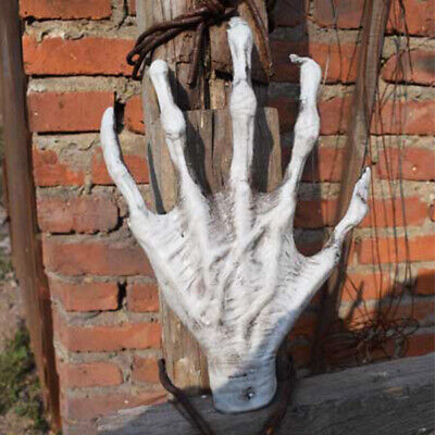 1 Pair Horror Witch Hand Skeleton Bar Halloween Party Tricky Props Ornament Pret