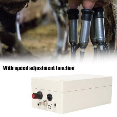 12v Vacuum Pump Electric Milking Machine Pneumatic Pulsator Dairy Farm Milker