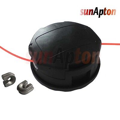 Dual Line Trimmer Head - Straight Shaft Trimmer Speed Feed Dual Line Trimmer Head For Echo SRM Models