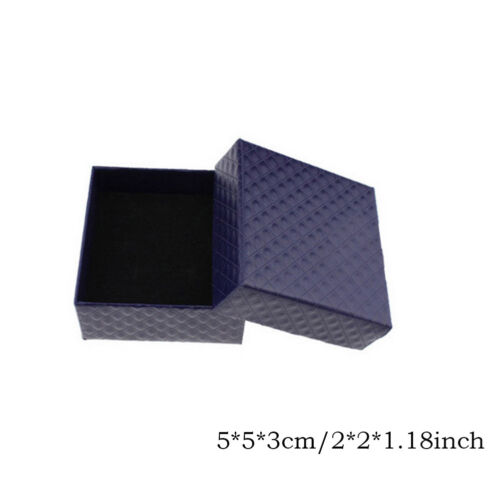 Lot Square Gift Box Earring Jewelry Set Case