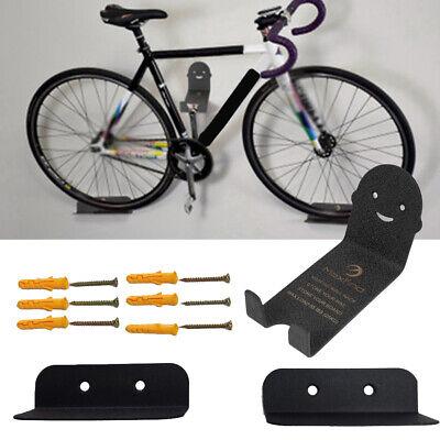 Soporte de Pared Bicicleta Bici MTB Gancho Colgador Ciclismo Repisa Almacenaje